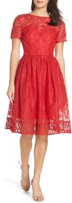CHI CHI LONDON Crochet Party Dress