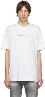 Diesel White T-Just-Copy T-Shirt