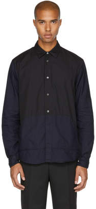 McQ Indigo and Black Darkbrook Shirt