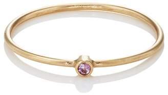 Jennifer Meyer Women's Pink Sapphire Thin Ring