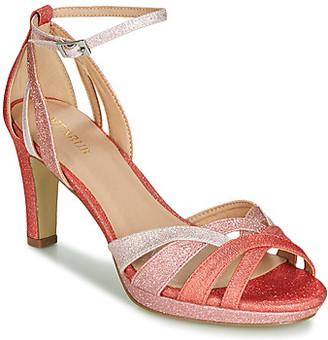 Menbur VERCELLI women's Sandals in Orange