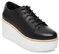 Steve Madden Kimber Platform Leather Shoes
