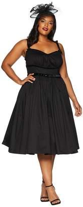 Unique Vintage Plus Size Micheline Pitt For Alice Swing Dress Women's Dress