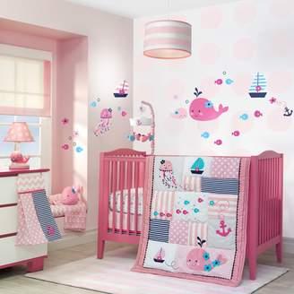 Lambs & Ivy Splish Splash 4-pc. Crib Bedding Set