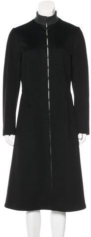 BalmainBalmain Long Line Wool Coat