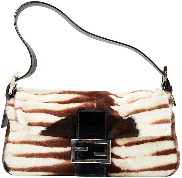 Baguette pony-style calfskin mini bag