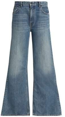 Alexander Wang High-Rise Wide-Leg Jeans