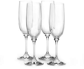 Mikasa Set of 4 Fluted Champagne Glasses