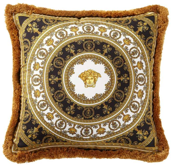 I Heart Baroque Silk Accent Pillow