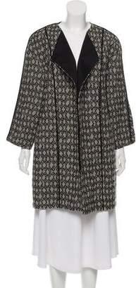 Gerard Darel Textured Open-Front Jacket
