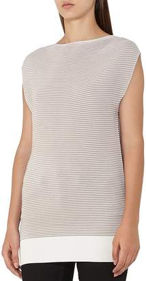 Reiss Lucinda Ribbed Top