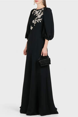 Andrew Gn Crystal-embellished Gown