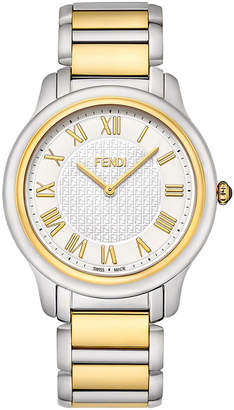 Fendi 40mm Men's Classico Bracelet Watch, Two-Tone