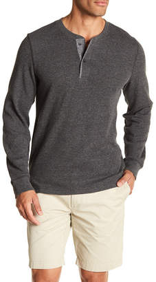 Grayers Long Sleeve Thermal Knit Henley