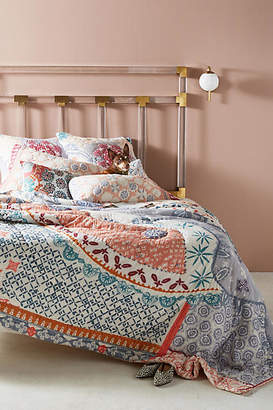 Anthropologie Artisan Quilts by Laterza Quilt