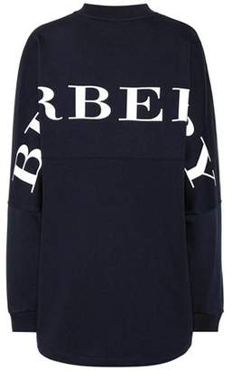 Burberry Oversized cotton sweatshirt