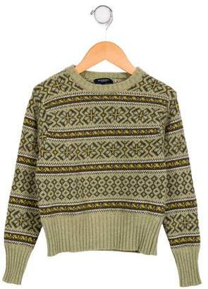 Burberry Boys' Patterned Wool Sweater