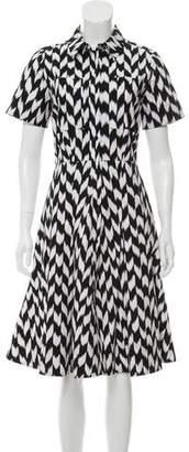 Michael Kors Short Sleeve Midi Dress