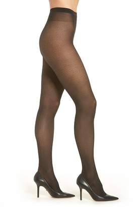 WOLFORD Zara Sheer Lattice Tights