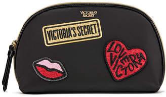 Victoria's Secret Victorias Secret Patch Glam Bag