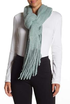 David & Young Stripe Oblong Scarf