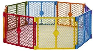 North States Industries Superyard Colorplay® 8 panel Freestanding Gate