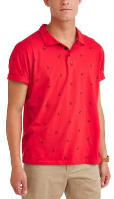 Ping Pong Pro Men's Conversational Polo, up to Size 5XL