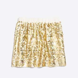 J.Crew Girls' sequin skirt
