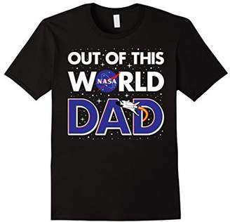 DAY Birger et Mikkelsen NASA Out Of This World Dad Father's Graphic T-Shirt