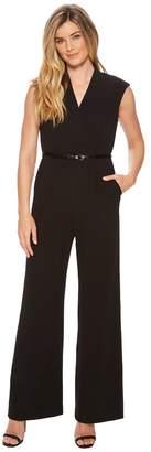 Calvin Klein Belted Jumpsuit CD8C16HK Women's Jumpsuit & Rompers One Piece
