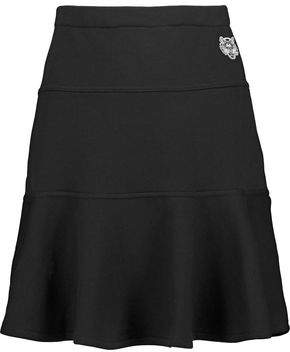 Kenzo Fluted Cotton Mini Skirt