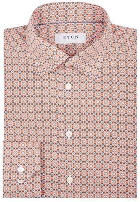 Eton Tile Print Shirt