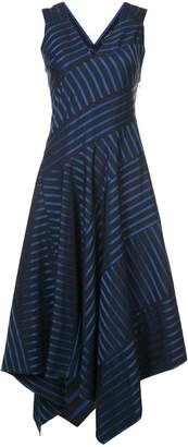 Derek Lam Sleeveless Dress with Asymmetric Hem