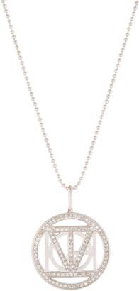 Sydney Evan 14k I Love You Diamond Medallion Necklace