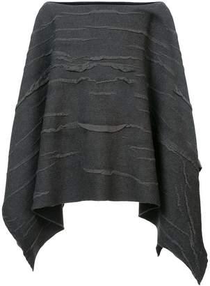 Label Under Construction textured cape