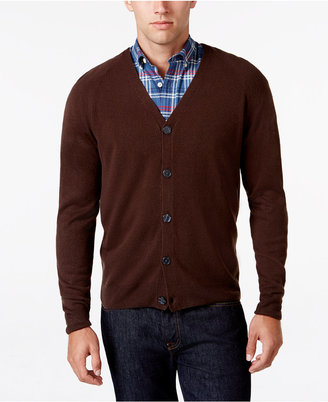 Weatherproof Vintage Men's Big and Tall Soft-Touch Cardigan, Classic Fit $90 thestylecure.com