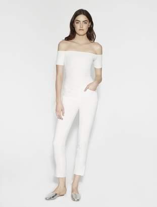 Halston Margaux Fine Rib Knit Bodysuit
