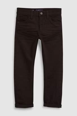 Next Boys Black Regular Fit Five Pocket Jeans (3-16yrs) - Black