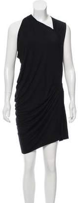 Yigal Azrouel Cut25 by Draped Knee-Length Dress w/ Tags