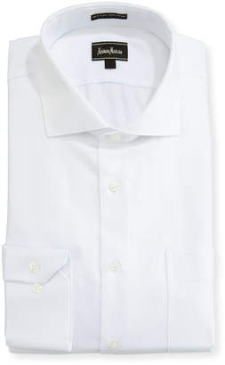 Neiman Marcus Regular-Finish Classic-Fit Dobby Dress Shirt