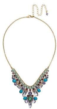 Sorrelli Jewel Tone Vervain Crystal Statement Necklace