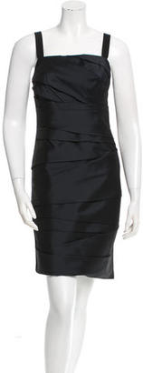 Vera Wang Sleeveless Knee-Length Dress $105 thestylecure.com
