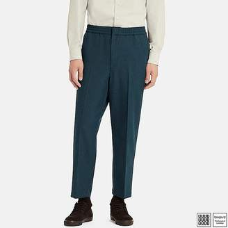 Uniqlo Men's U Relaxed Wide-fit Ankle-length Pants