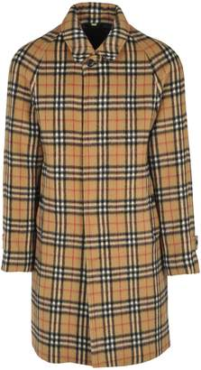 Burberry Camdem Coat Wool Overall Check