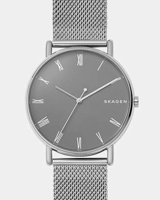 Skagen Signatur Silver-Tone Analogue Watch