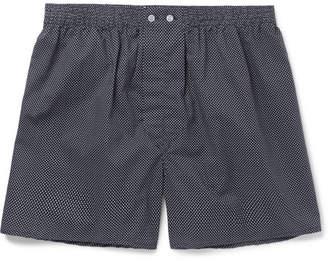 Derek Rose Plaza Polka-Dot Cotton Boxer Shorts