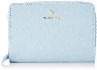 Marie Claire (マリ クレール) - [マリクレール] ラウンドファスナー二つ折り財布 88641 ゴーフル ブルー