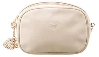 Longchamp Leather Crossbody Bag gold Leather Crossbody Bag