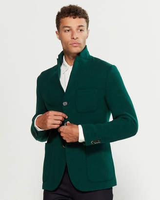 Barena Venezia Wool Patch Pocket Blazer