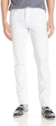 Calvin Klein Men's Slim Fit 5 Pocket Cotton Stretch Dobby Weave Pant